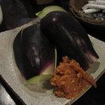 かんだ光壽 - 水茄子の刺身