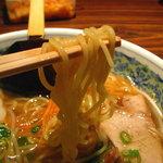 ターボー - 麺ストレートの細麺