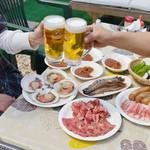 こばと園 - 海鮮&サーロインステーキBBQコース