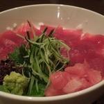 18490714 - 「まぐろちらし丼」(680円)も満足