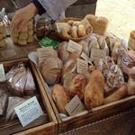 18491791 - 杜の市に並ぶたくさんのパン達