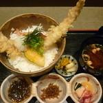 旬彩和遊 楠 - 大穴子天丼定食