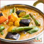 神戸Aarti - しっかり野菜を食べる!カレーなら飽きずに食べられますよ!ゴロゴロ野菜がタップリ入った濃厚ベジタブルカレーはいかがですか!