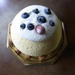 ラ・ペーシュ・ブラン - ズコット・フロマージュ(スフレのチーズケーキ)2013/4