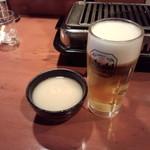 めいげつ - マッコリ&生ビール