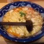 18494850 - 110401黒酢あんかけうどん【2011-4】