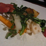 柳庵 - 2013.4)焼き野菜(580円)