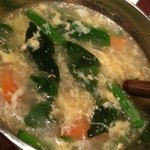 18499864 - たまごスープ