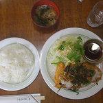 漫画喫茶 ミトミ - 料理写真:納豆とんかつ定食