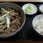 小松家そば店 - 鳥南そば&サービス半ライス