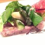イタリア料理 ドルチェヴィータ - ローストビーフ、ランチのアンティパストミスト