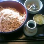 泰尚 - 納豆蕎麦・冷・麺量ダブル