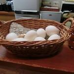 一福そば - ゆで卵(1個50円)
