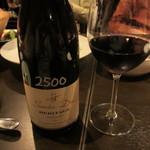 tamaya - ワイン2本目