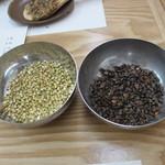 そば工房 玉江 - 蕎麦の実