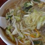 生駒軒 - ゲキ辛タンメンの麺