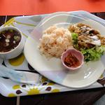みのり處 - 料理写真:焼肉サラダセット