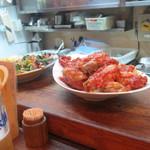 立呑み 活力屋 - チキンのトマト煮¥280(◎0◎)