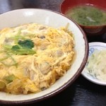 丼ぶりや - 平日ランチあさり丼550円