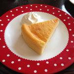 ナガハマコーヒー - チーズケーキ。