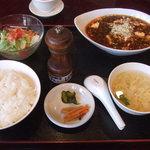 遊山 - マーボー豆腐セット