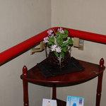 すき焼き キムラ - 階段の踊り場