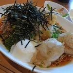 くろまめ - Bランチ ねばねば素麺 / 800円