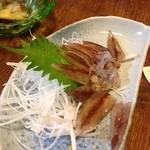 さんじゅうまる - ホタルイカの刺身