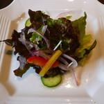 釜山道川 - 野菜サラダ