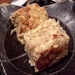 ごはんやたつや - 2011.06の日替り定食、もやしの卵焼き
