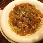 レストラン のや - ビーフストロガノフスパゲティ
