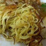 天津 - 中華料理 天津 @前野町 特製焼ソバ(両面焼)の麺下側