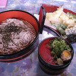 龍 - 料理写真:天ざる(1,200円)