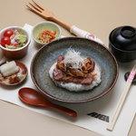 ステーキハウスRiGi - ステーキ丼(ランチ)   ¥1,050-