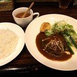 KITCHENはんおむ - 日替わりランチ(750円)
