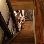 アクション - 階段を上ります・・・