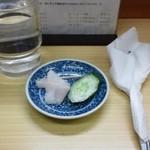 リッチなカレーの店 アサノ - おしんこ