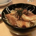 らーめん桜 - Bセットの豚バラ丼