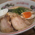 道元 - 売り切れ御免 塩ら~めん(ストレート麺+あっさり)