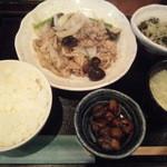18523379 - 豚肉の黒胡椒炒め
