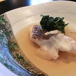 島宿 真里 - <昼>鯛と春野菜の沢煮