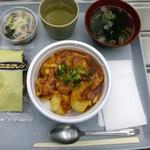 理化学研究所 第一食堂 - 料理写真:当日のメニューB エビチリ丼