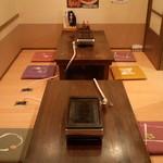 日賀志 - 座敷は、8名様~14名様まで入れます。
