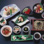 伊勢福 - 料理写真: 3コースあり 真ん中のコース 3800円(税別サービス料別)