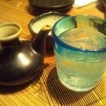 沖縄ダイニング琉歌 - 泡盛(菊の露サザンバレル)1449円