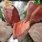 1853483 - 石松定食お刺身5点盛り