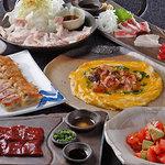 水炊き風もつ鍋 もつ彦 - 焼き物・生もの料理は大人気です
