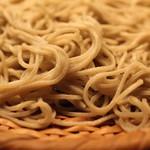 吉祥庵 - 鴨南蛮の蕎麦 (2013/04)