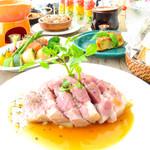 kawara CAFE&DINING - コースもボリュームたっぷり!