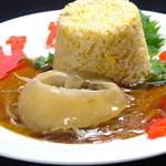 中国料理 シルクロード - 中華料理の王様といえばフカヒレ!国産フカヒレ姿煮丼をお手頃価格で!ごはんは白飯orチャーハンからお選びいただけます♪ 980円